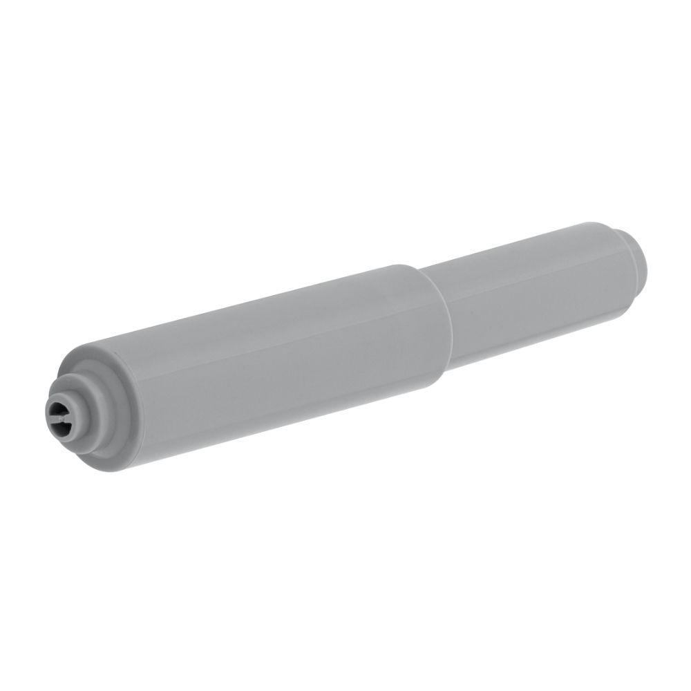 Replacement Double Post Toilet Paper Roller in Grey
