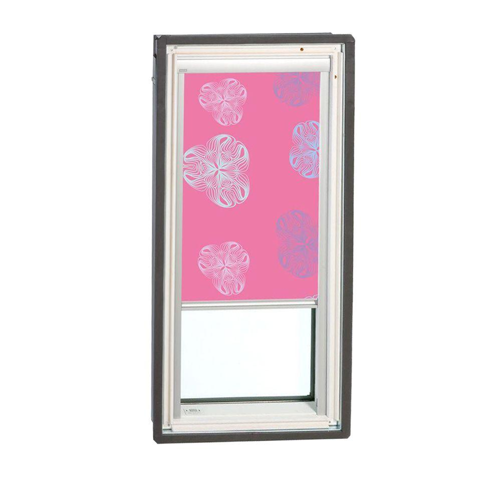 VELUX Nature Pink Manually Operated Blackout Skylight Blinds for FS S01 Models