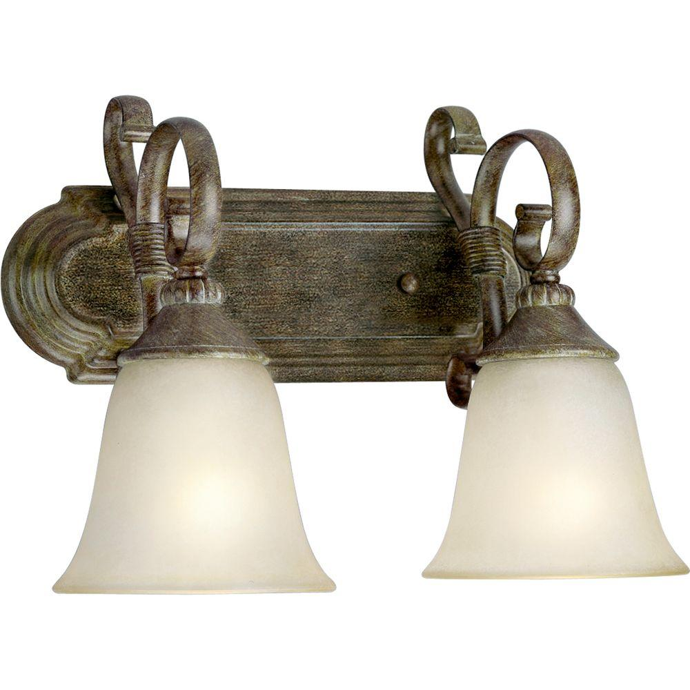 Progress Lighting Maison Orleans Collection 2-Light Fieldstone Wall Bracket