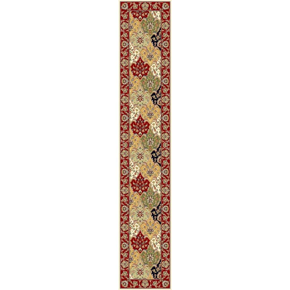 Safavieh Indoor/Outdoor Safavieh Rugs Lyndhurst Multi / Red 2 ft. 3 in. x 22 ft. Runner LNH320A-222