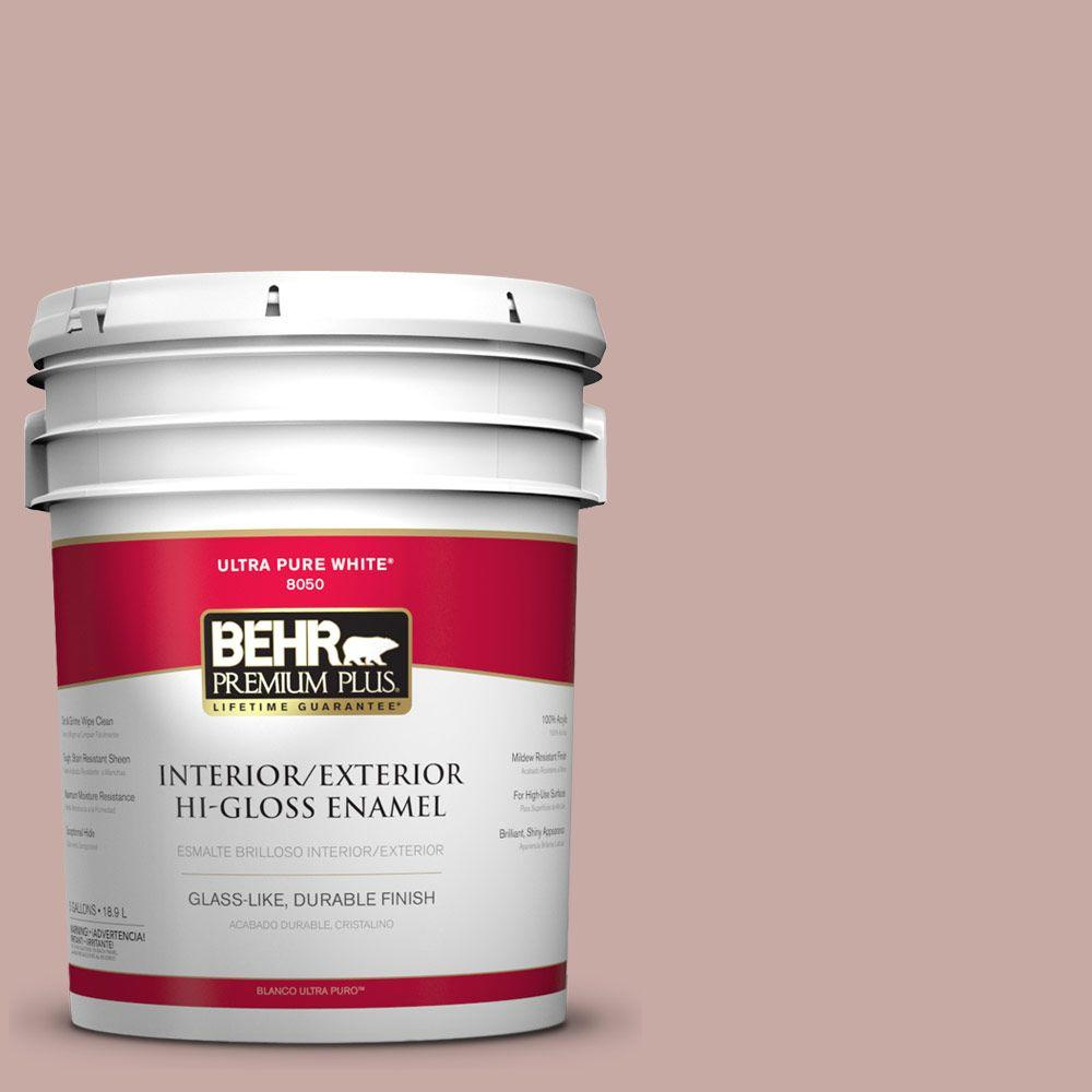 5-gal. #700A-3 Pottery Clay Hi-Gloss Enamel Interior/Exterior Paint