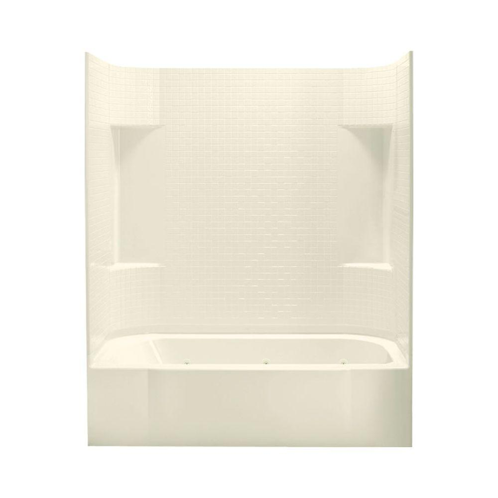 Accord 30 in. x 60 in. x 73.25 in. Bath and