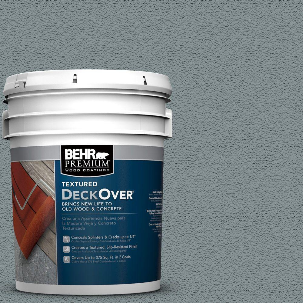 behr premium textured deckover 5 gal sc 119 colony blue