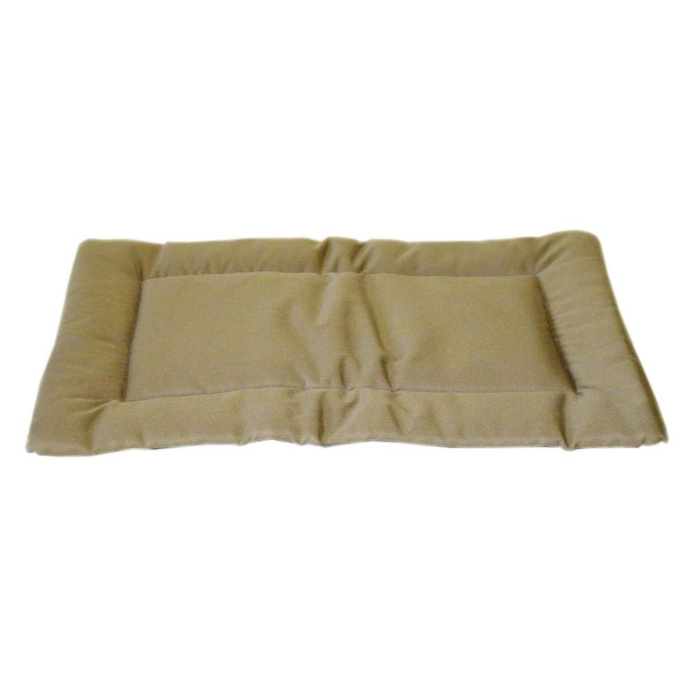 Carolina Pet Company Brutus Tuff Napper Large Khaki Bed