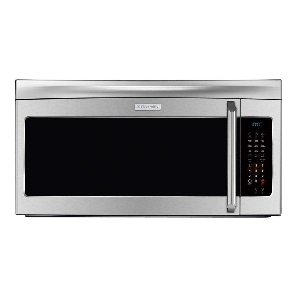 Electrolux 30 in. W 2.0 cu. ft. Over the Range Microwave in Stainless Steel with Sensor Cooking-DISCONTINUED