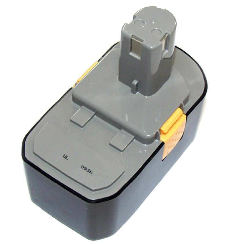 eReplacements Cordless Power Tool Batteries 18-Volt NiMH Battery Compatible for Ryobi Power Tools B-1815-S-ER