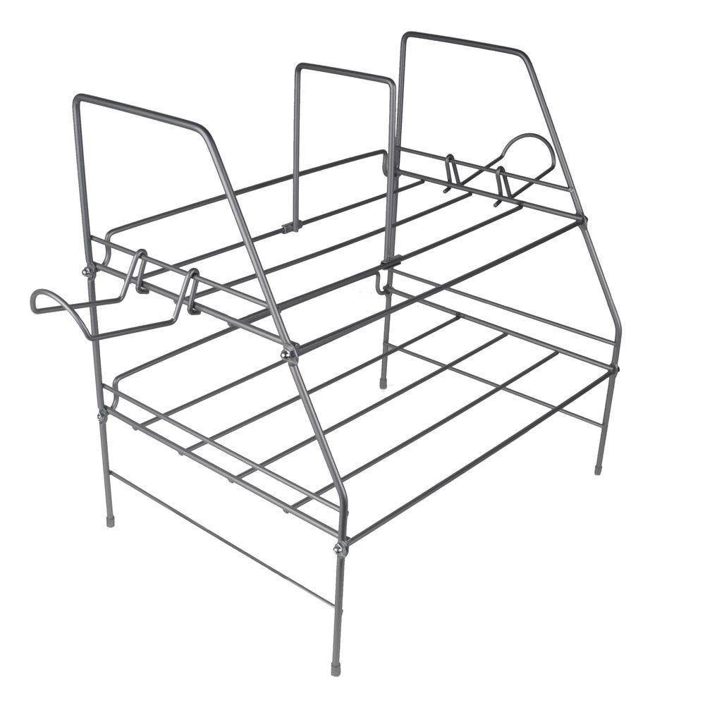 Atlantic Game Depot Wire Gaming Rack for Youth Room