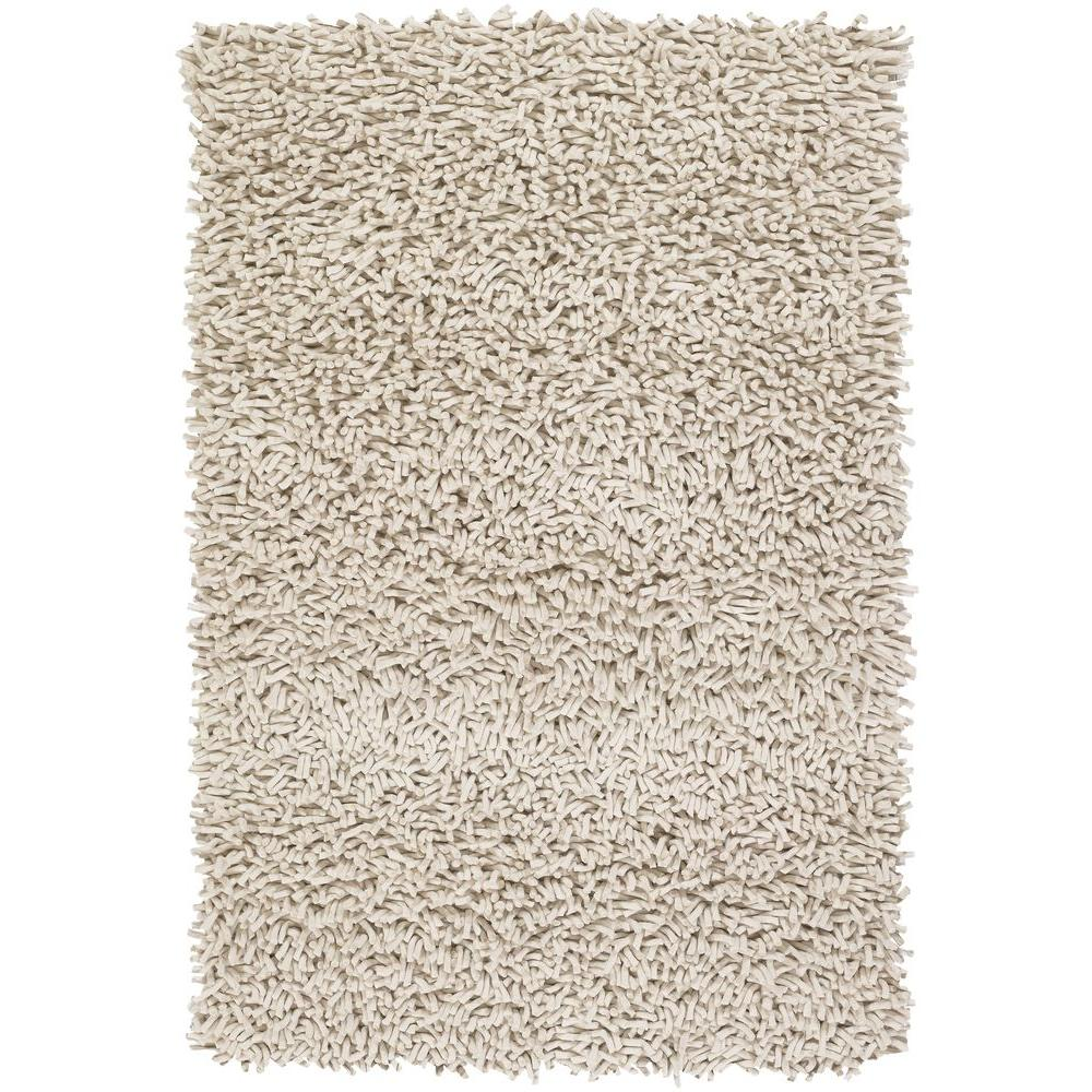 Chandra Montaro White 9 ft. x 13 ft. Indoor Area Rug