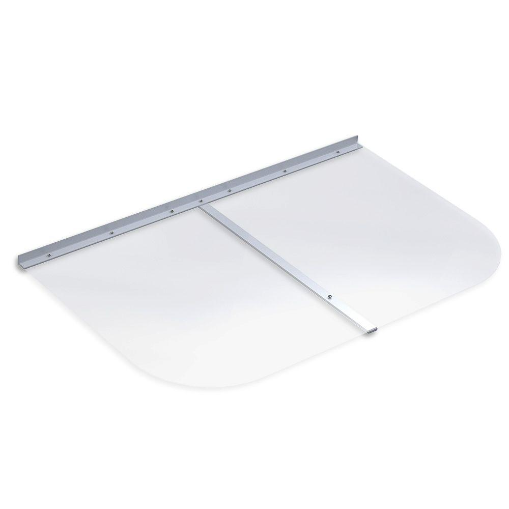 41 in. x 26 in. Rectangular Clear Polycarbonate Window Well Cover