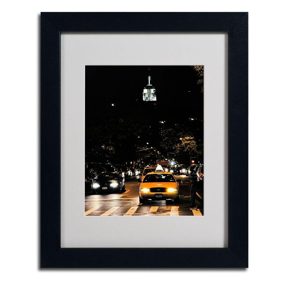 Trademark Fine Art 11 in. x 14 in. Empire State of Mind Canvas Art