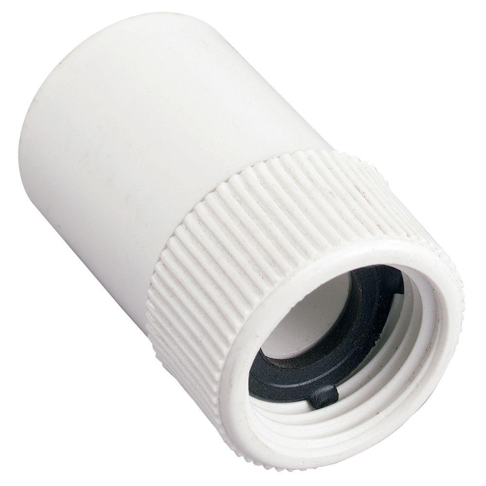 In slip fht pvc hose fitting the home depot