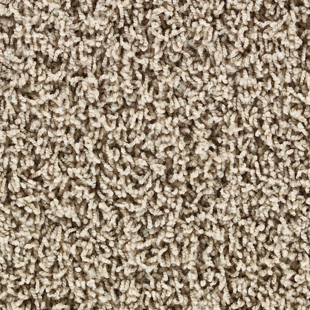 Martha Stewart Living Chatsworth Buckwheat Flour (S) - 6 in. x 9 in. Take Home Carpet Sample-DISCONTINUED