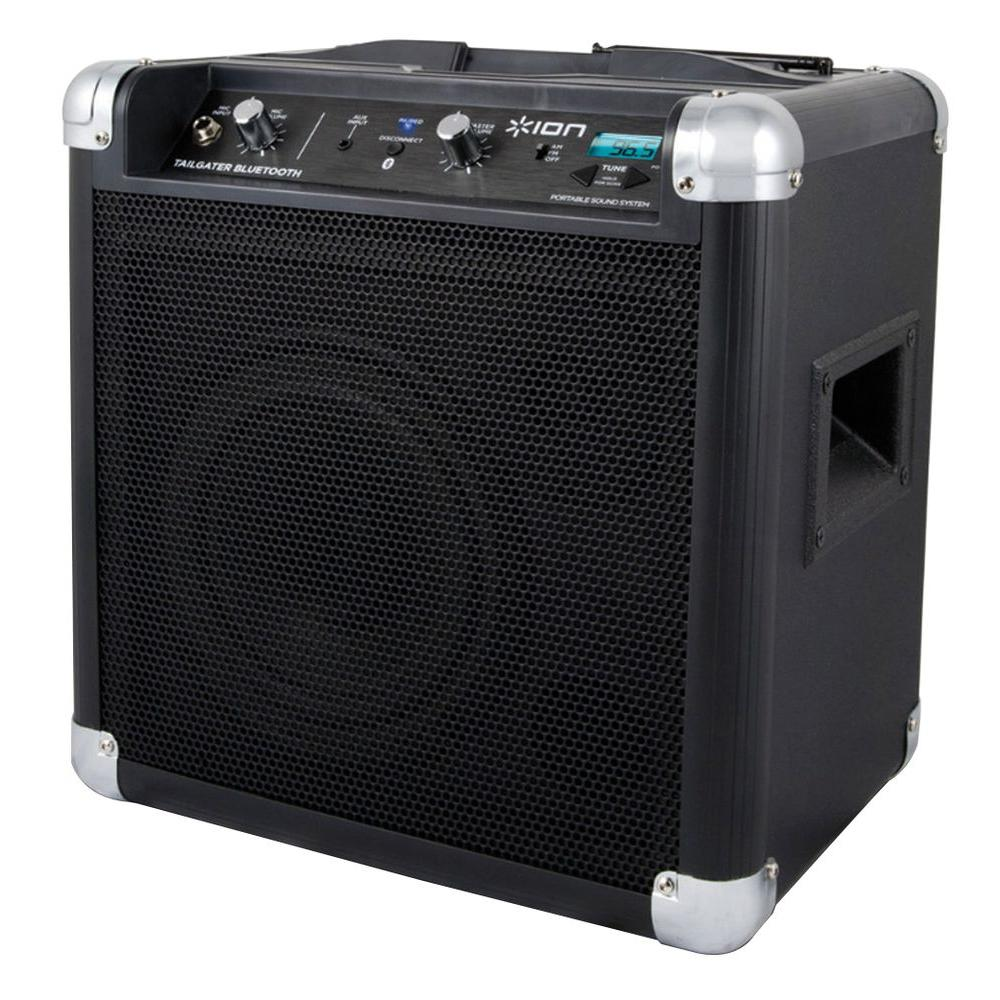 Ion 50-Watt Indoor/Outdoor Bluetooth Portable Music System with Microphone and AM/FM radio