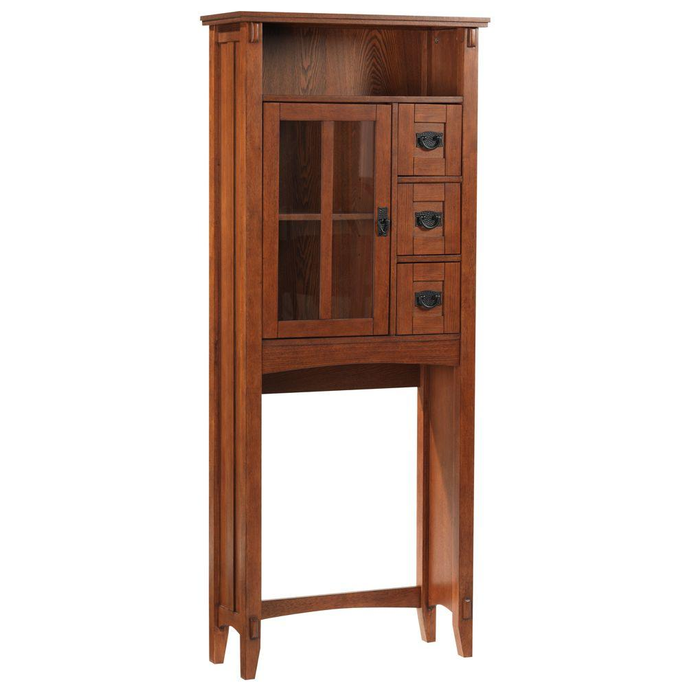 Home Decorators Collection Artisan 28 in. W Spacesaver in Light Oak