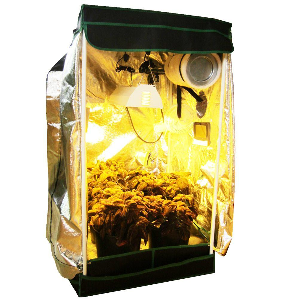 Viagrow 2 ft. x 2 ft. Complete Organic Grow Room-VHHORG2X2 -