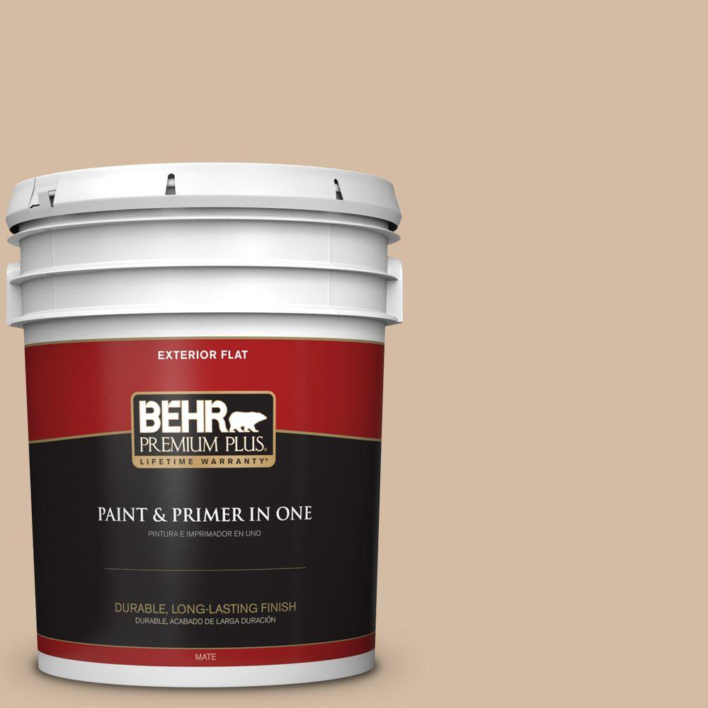 5-gal. #N270-3 Coco Flat Exterior Paint
