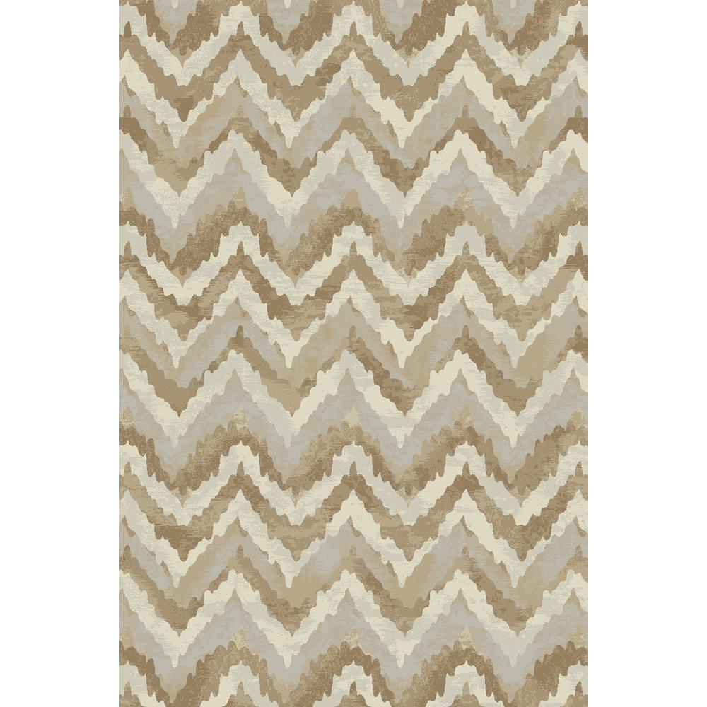 Dynamic Rugs Melody Ivory/Beige 5 ft. 3 in. x 7 ft.