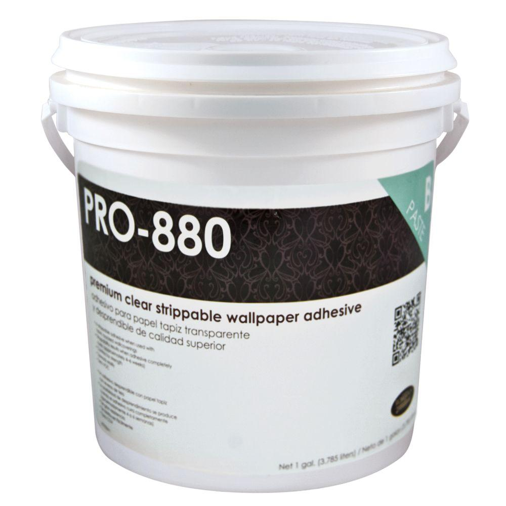 PRO-880 1 gal. Ultra Clear Premium Clear Strippable Wallcovering Adhesive
