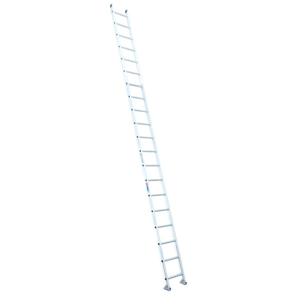Werner 20 ft. Aluminum D-Rung Straight Ladder with 300 lb. Load