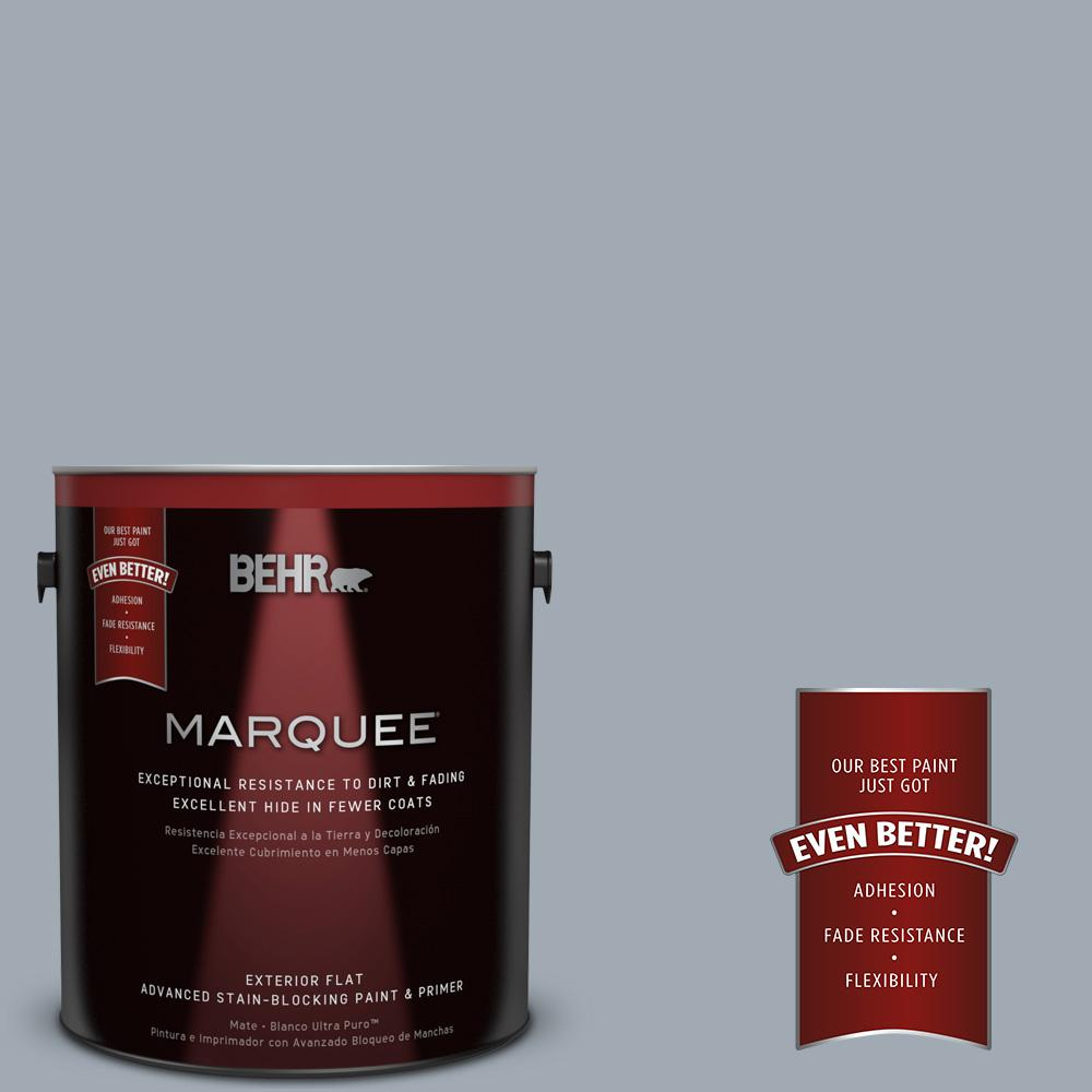 BEHR MARQUEE 1-gal. #T13-6 Twilight Flat Exterior Paint