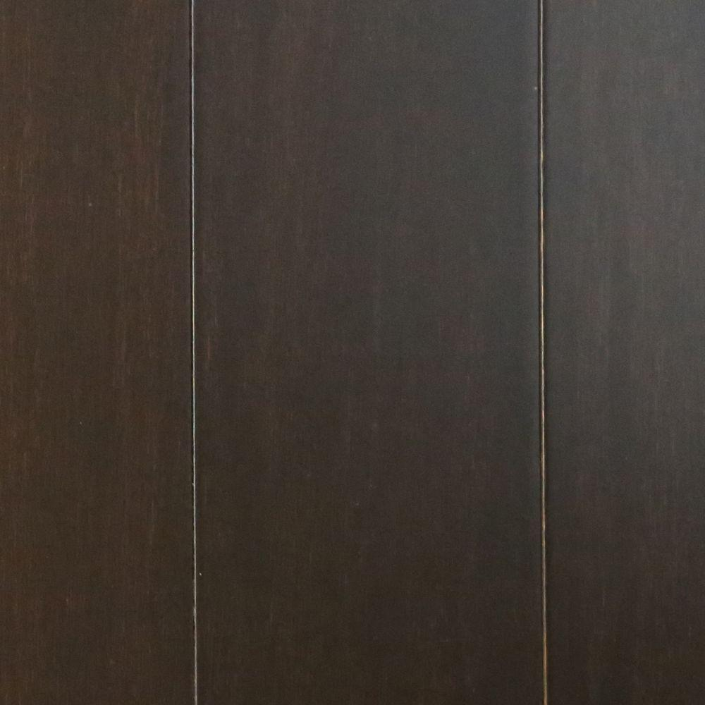 Islander Ebony 7/16 in. Thick x 3-5/8 in. Wide x Random Length Click Lock Solid Strand Bamboo Flooring (28.75 sq. ft. / case)