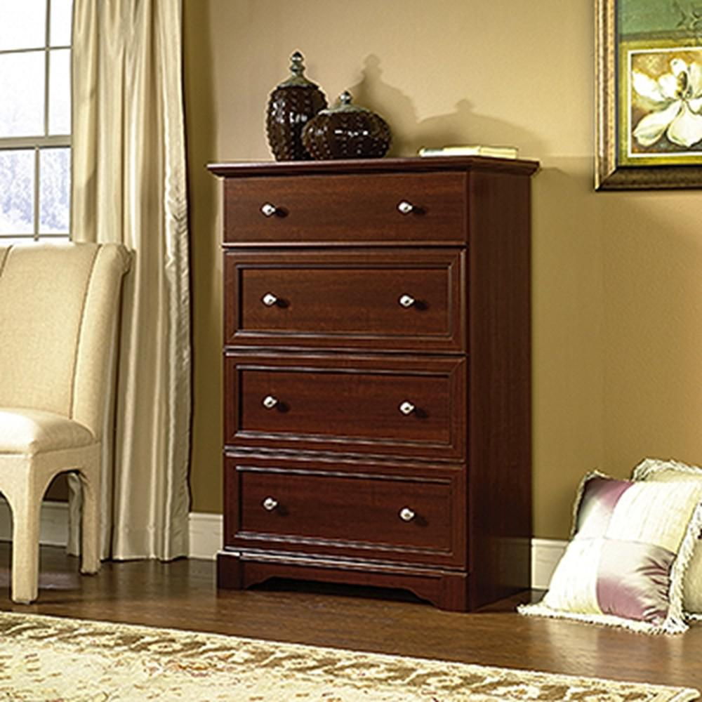 SAUDER Palladia Collection 48 in. x 35 in 4-Drawer Chest in