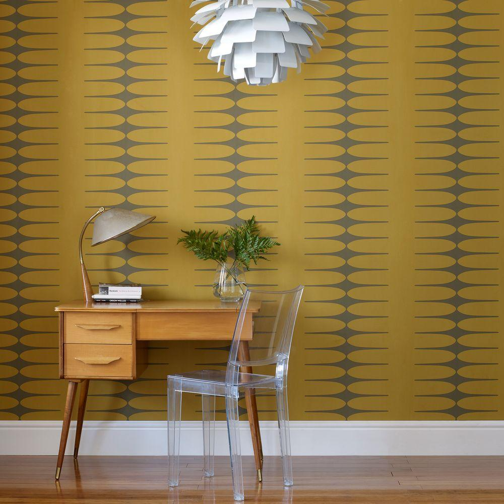 Graham & Brown Do the Stretch Yellow Wallpaper