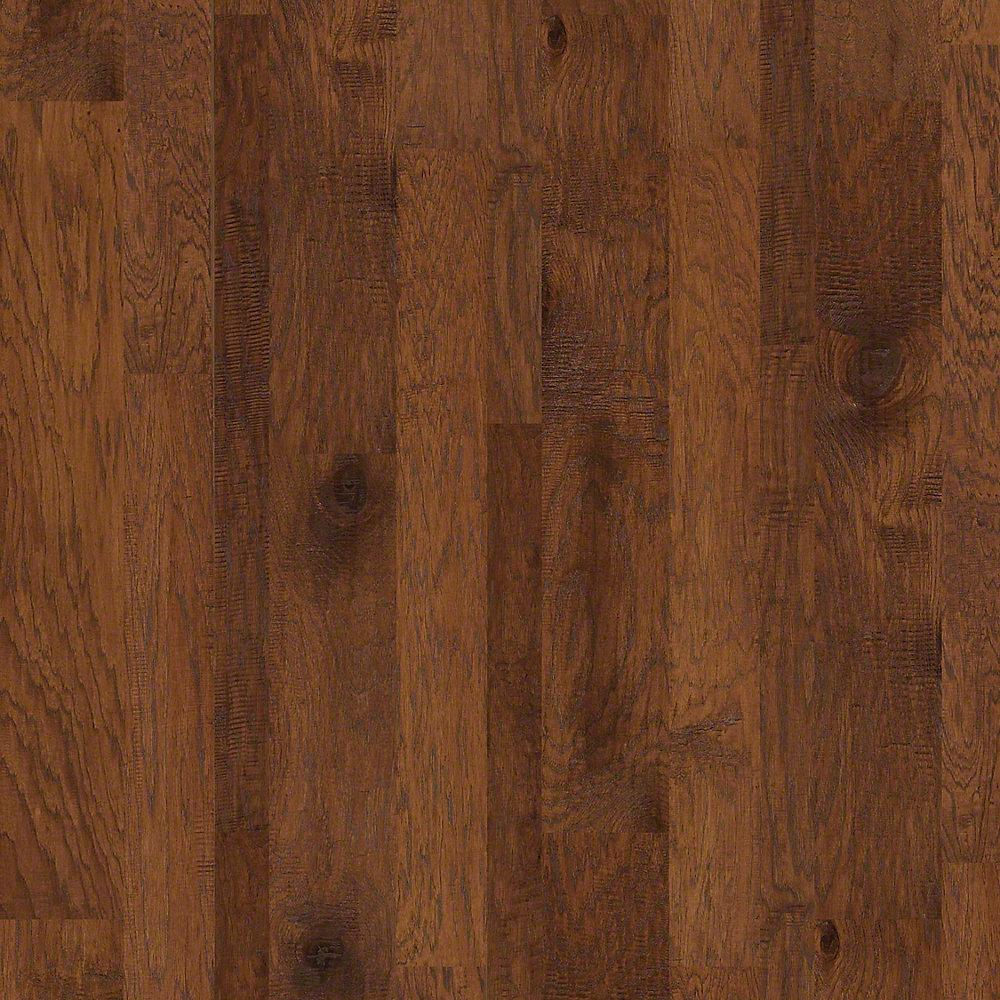 Take Home Sample - Drury Lane Ginger (Red) Engineered Hardwood Flooring - 7 in. x 10 in.