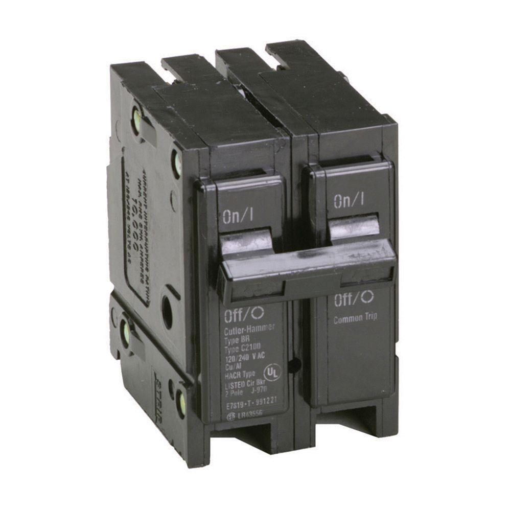 90 Amp 2 in. Double-Pole Type BR Replacement Circuit Breaker