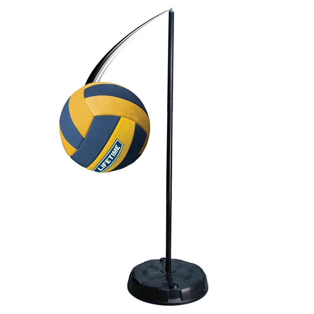 Lifetime Portable Tetherball System 90029 The Home Depot