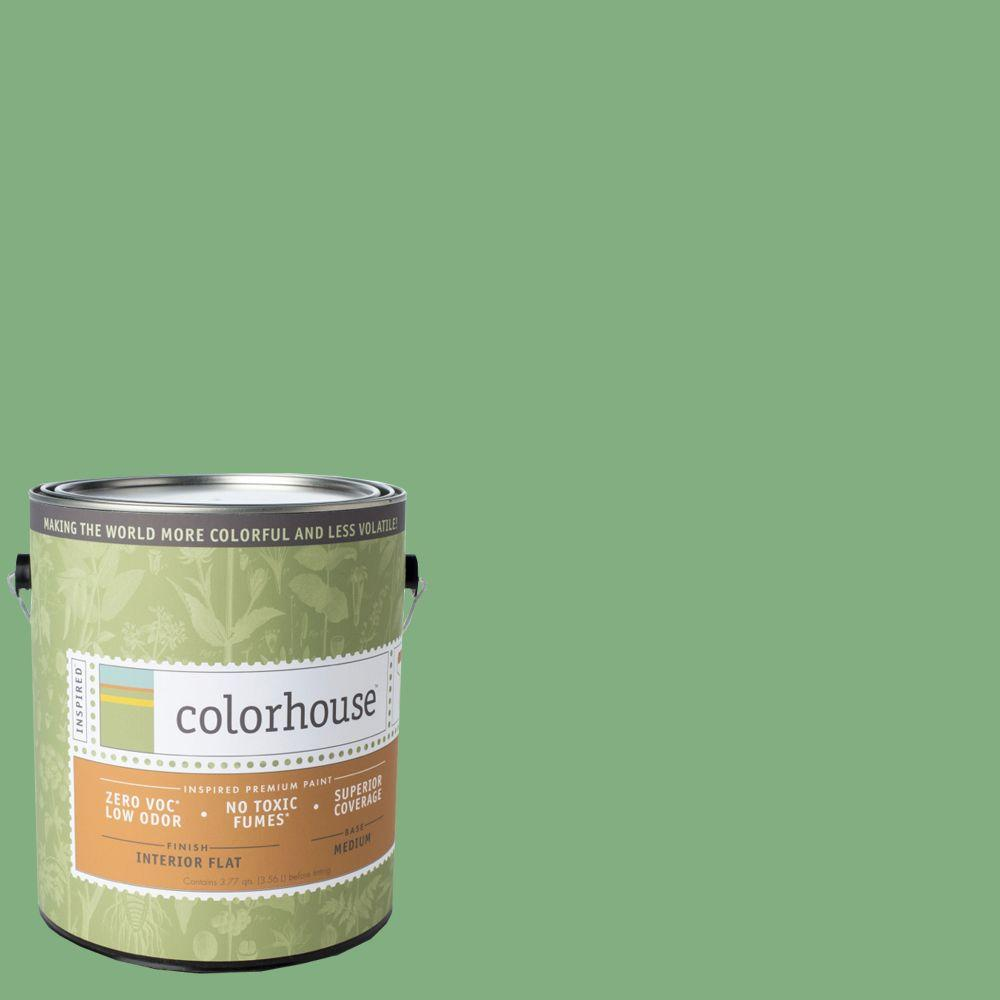 Colorhouse 1-gal. Thrive .05 Flat Interior Paint-481657 - The Home Depot