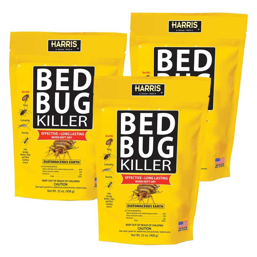 32 oz. Diatomaceous Earth Bed Bug Killer (3-Pack)