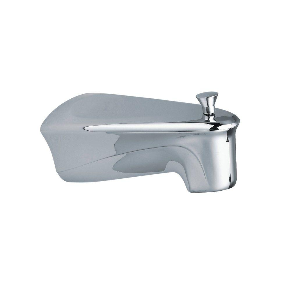 Chateau Diverter Tub Spout with Soap Tray in Chrome (Grey)