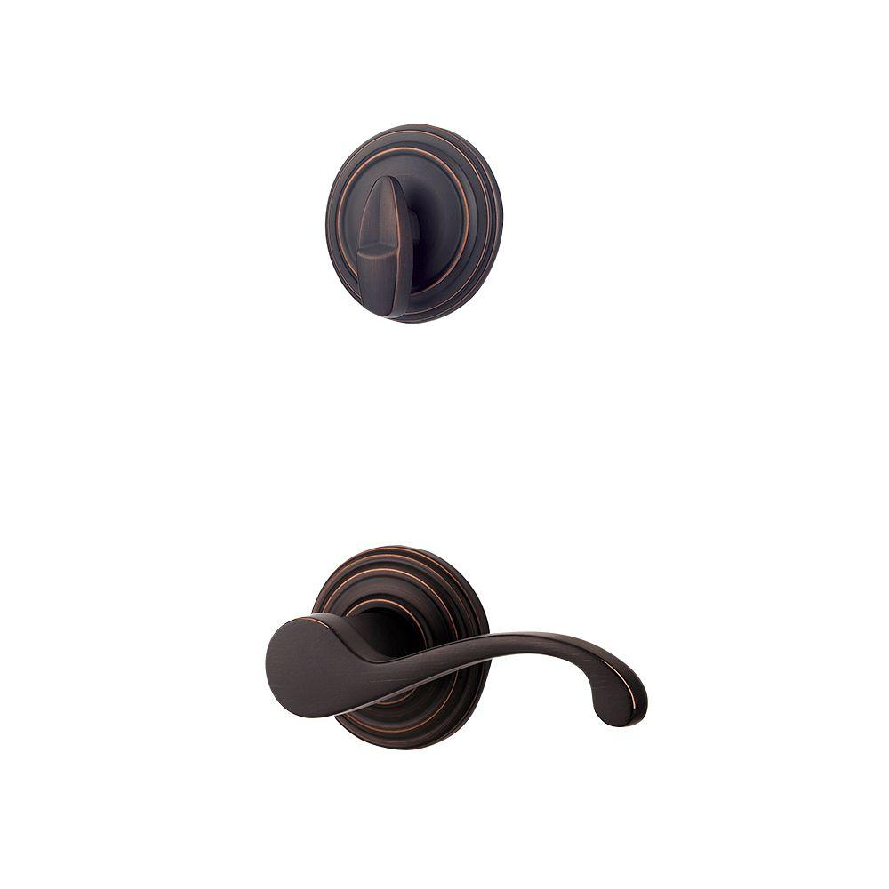 Commonwealth Single Cylinder Venetian Bronze Right-Handed Interior Pack Lever