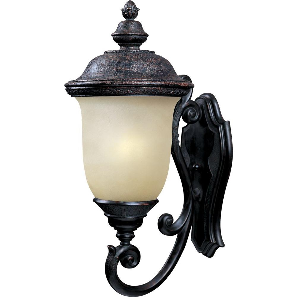 Maxim Lighting Carriage House Energy Efficient 1-Light Oriental Bronze Outdoor