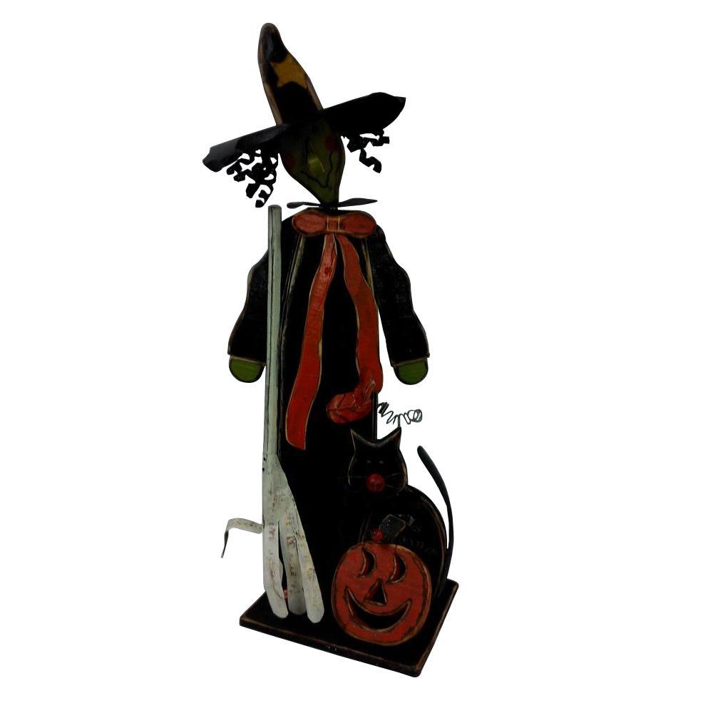 Home accents holiday holiday ornaments and decor halloween 32 in halloween witch sm066 shop Halloween decorations home depot
