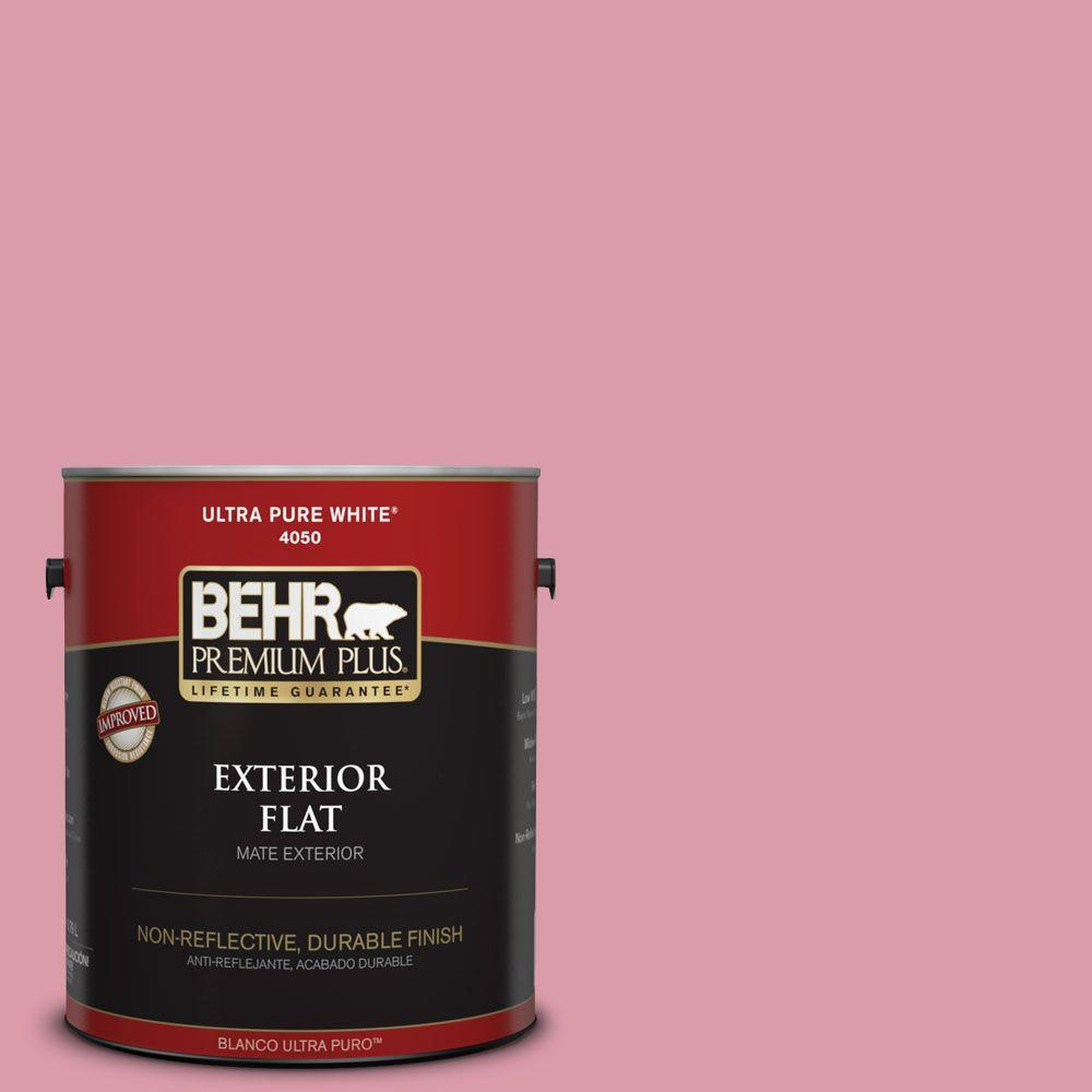 1-gal. #110C-3 Glamour Flat Exterior Paint