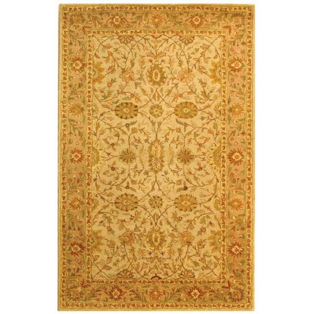 Safavieh Antiquity Ivory/Light Green 5 ft. x 8 ft. Area Rug-AT17A-5