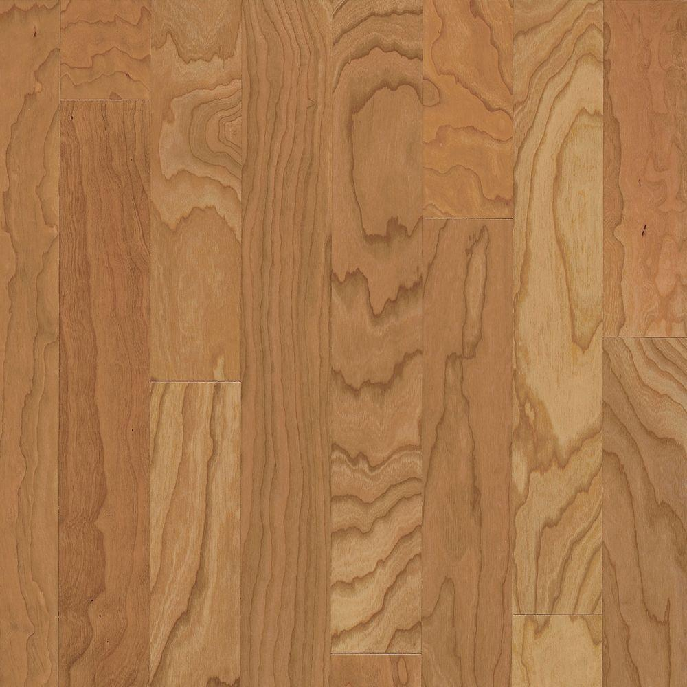 Town Hall Cherry Natural Engineered Hardwood Flooring - 5 in. x 7 in. Take Home Sample