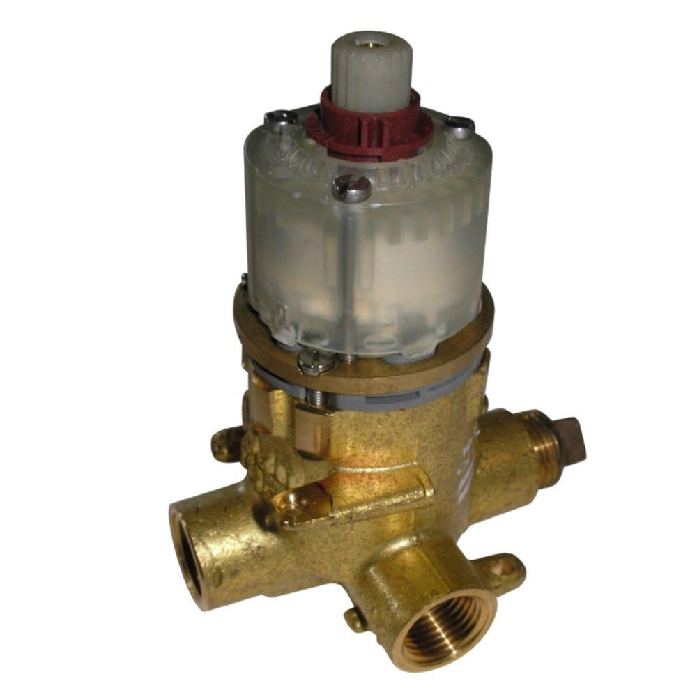 American Standard Pressure Balanced Rough Valve Body with 1/2 Pex Inlets and Direct Sweat Outlets