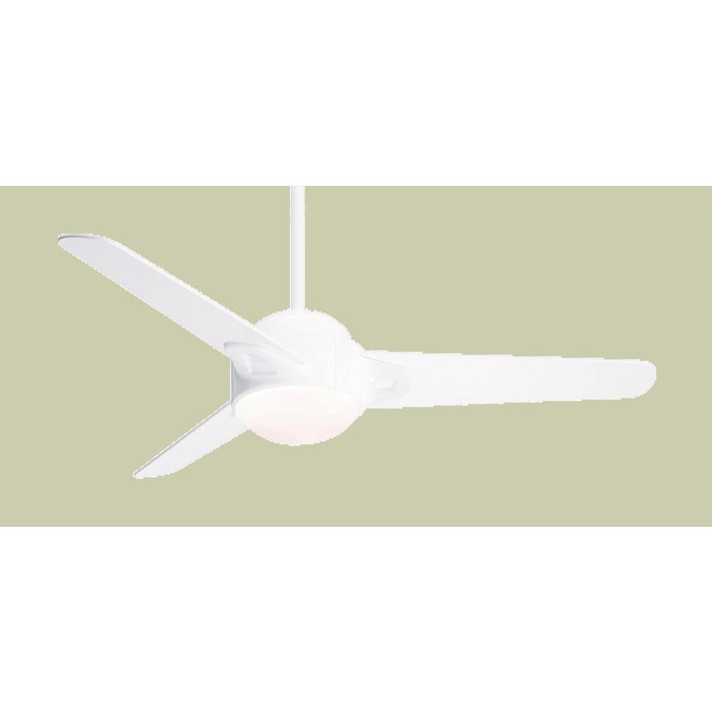 Casablanca S3 54 in. Snow White Ceiling Fan-DISCONTINUED