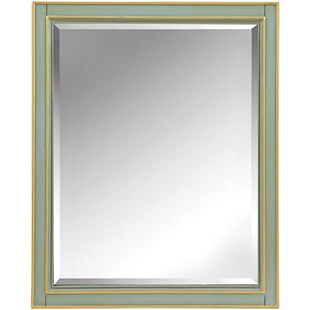 Disnmore 26 in. W x 32 in. H Single Framed Mirror
