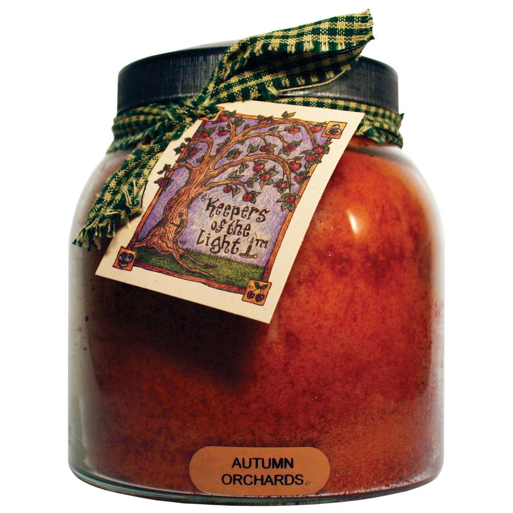 Keepers of the Light Autumn Orchards Glass Candle-JP65 - The Home