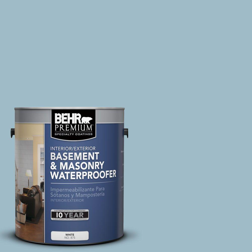 BEHR Premium 1-gal. #BW-55 Nordic Sky Basement and Masonry Waterproofer-87501 -