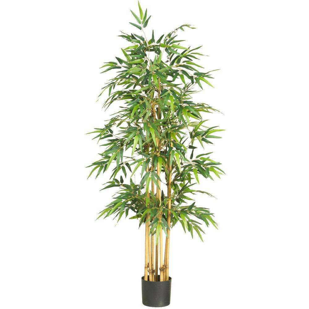Nearly Natural 64 in. Bamboo Silk Tree