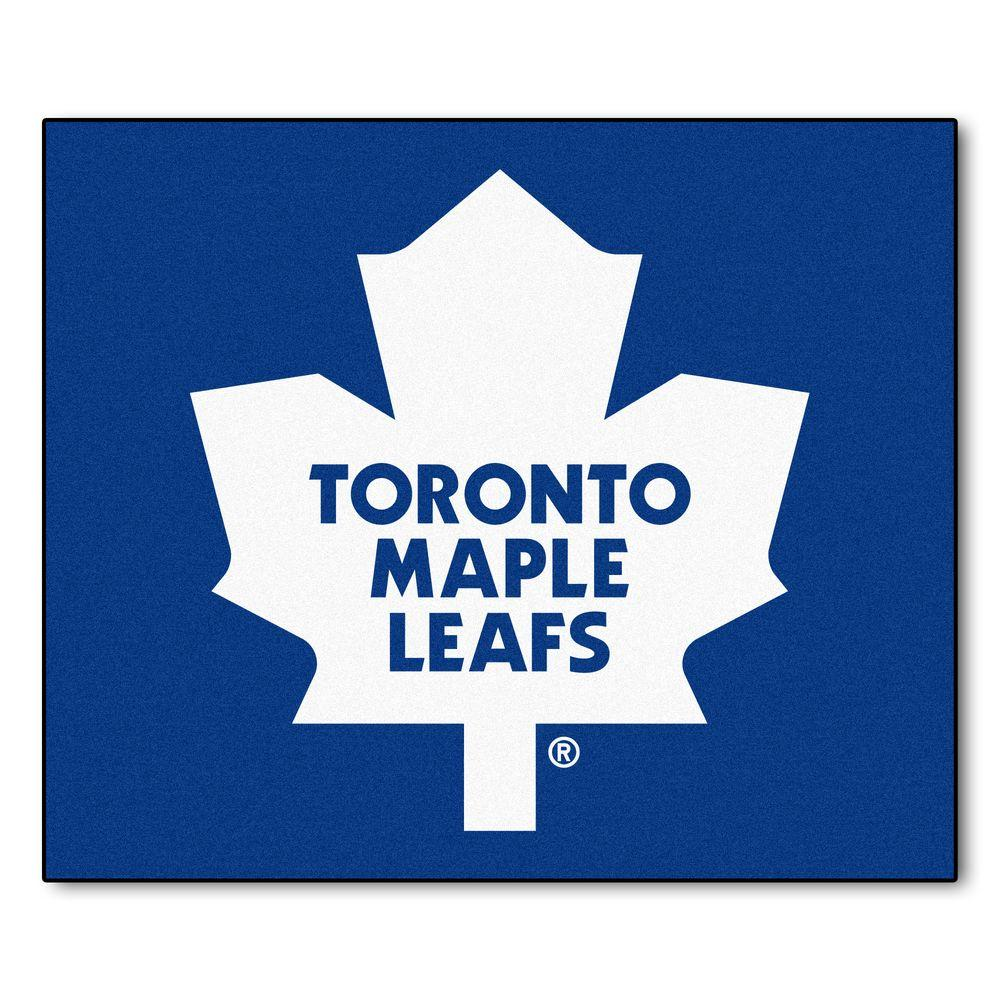 FANMATS Toronto Maple Leafs 5 ft. x 6 ft. Tailgater Rug-10441