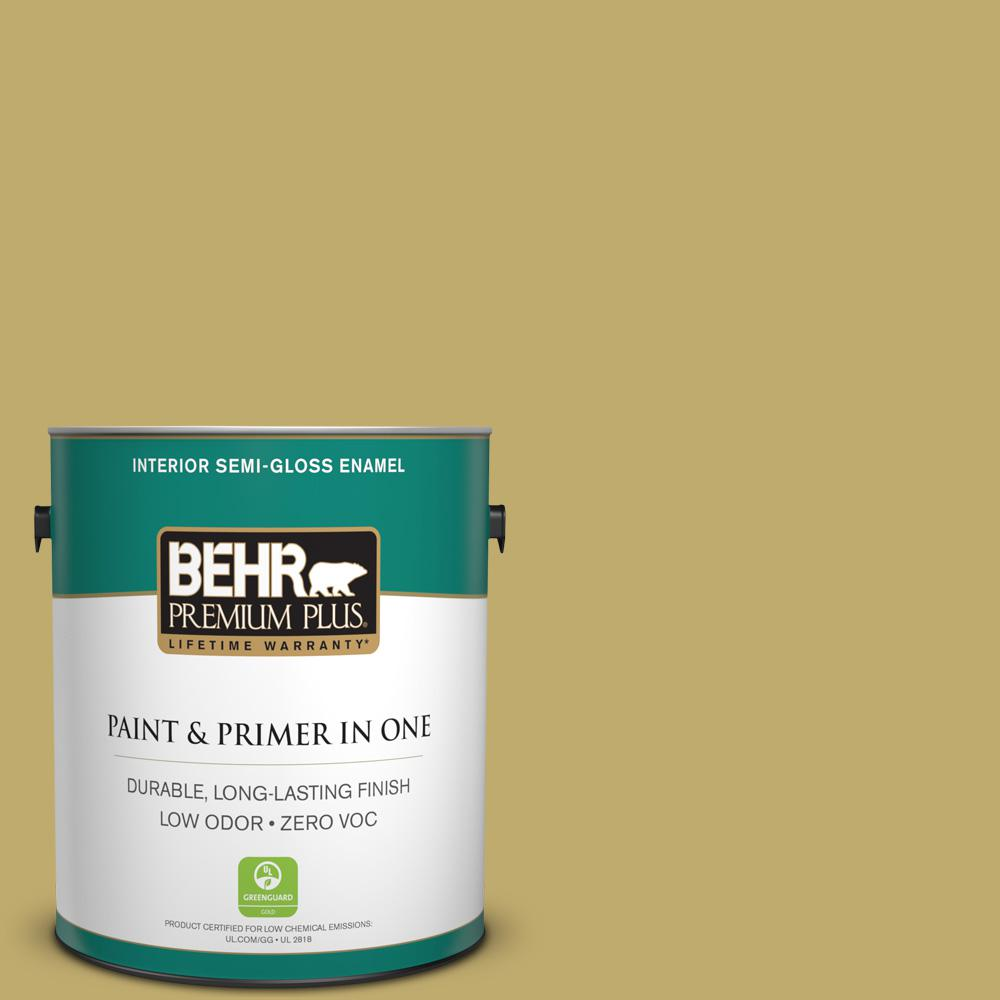1-gal. #M310-5 Chilled Wine Semi-Gloss Enamel Interior Paint