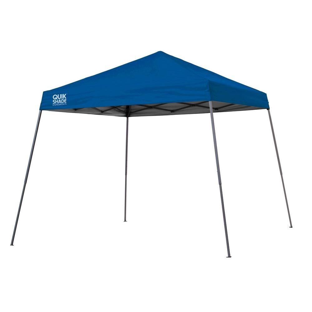 Quik Shade Expedition Team Colors 10 ft. x 10 ft. Slant Leg Instant Canopy in Royal Blue