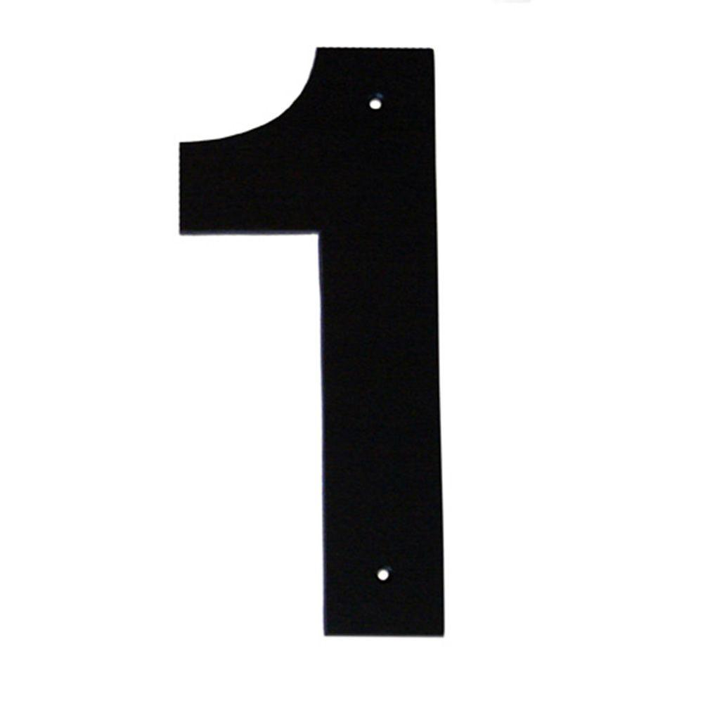 4 in. Helvetica House Number 1