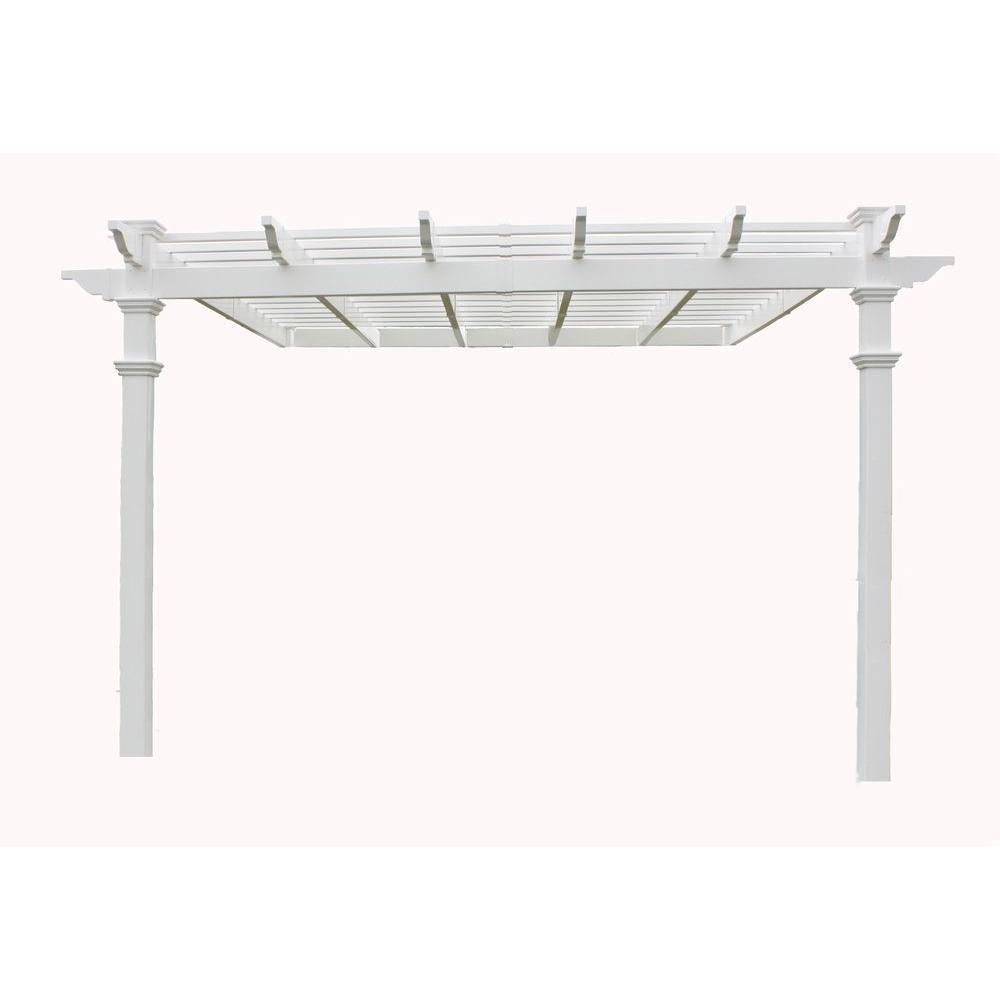 New England Arbors Freemont 12 ft. x 12 ft. Pergola